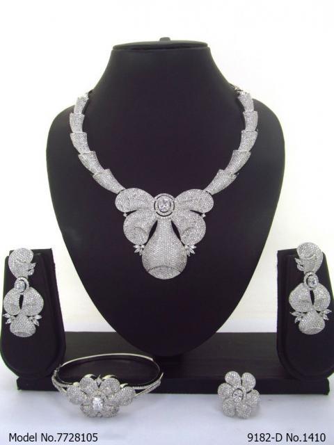 CZ Collar Necklace Collection