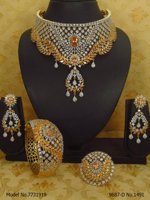 Designer Jewelry Set for Weddings