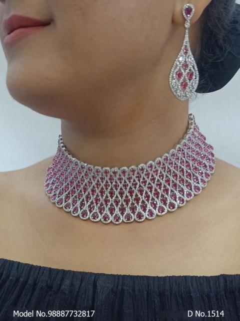 Wholesale Zircon Jewellery Set