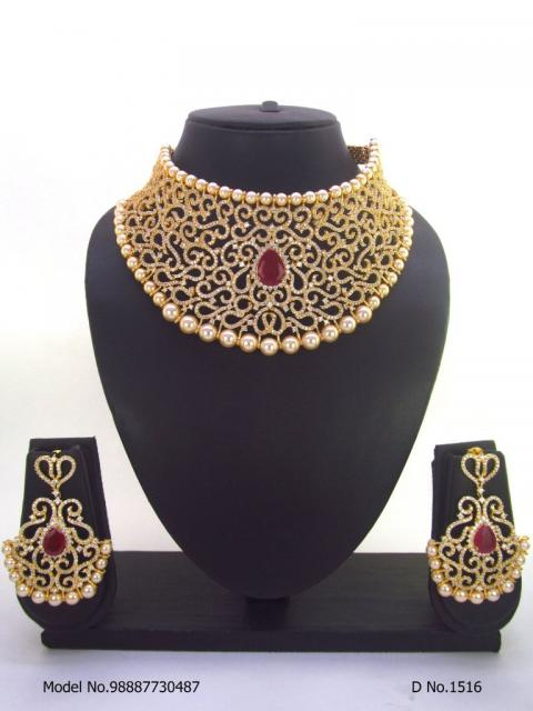 Cz Jewelry Set | Made in India