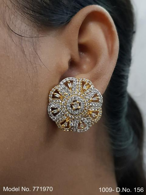 American diamond Earring Indian hand crafted