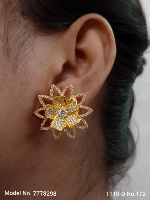 Princess Zircon Earrings
