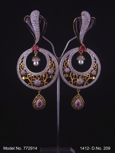 Small CZ Earrings