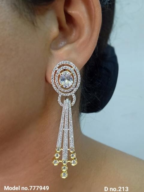 Small CZ Earrings