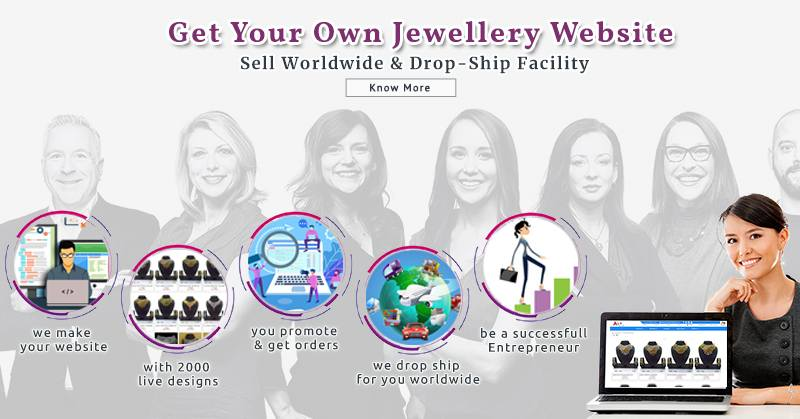 Get Your Own Jewelry Website, Sell Worldwide & Dropship Facility