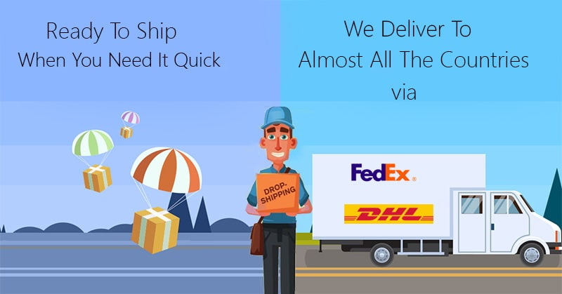 Ready To Ship When You Need It Quick